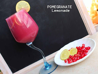 pomegranate juices syrup drinks lemonade simple juice drinks punch recipes ifthar dishes meals ramadan recipes