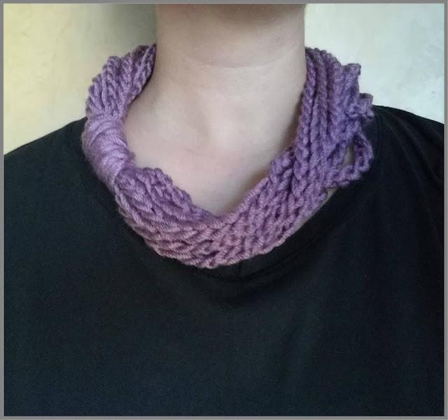 Sophia's Lullaby- Finger Crochet 2