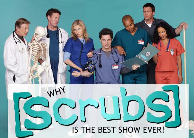 Know Your Show: Zach Braff & Scrubs #AtoZChallenge
