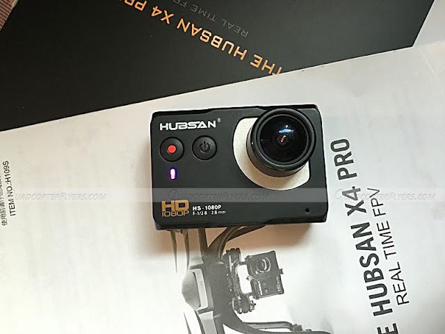 Hubsan H109S Hd Camera