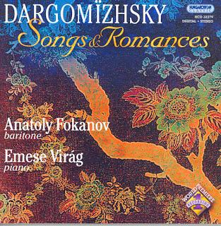 Dargomyzhsky: Songs and Romances