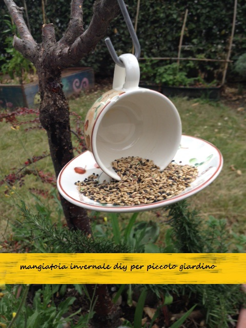attirer les oiseaux dans un petit #jardinbeton