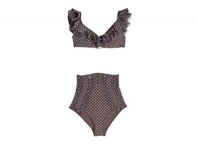 polka dots swimwear abito a pois bianchi su fondo marrone polka dots dress mango dress ss 2018 mango polka dots collection collezione mango primavera estate 2018 tendenza pois tendenza polka dots mariafelicia magno fashion blogger color block by felym fashion blog italiani fashion blogger italiane fashion bloggers italy