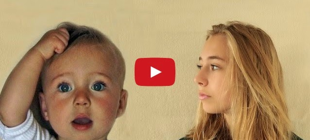 Awesome Timelapse - From Baby Girl to a 14 Year Old Teenager in 4 Minutes