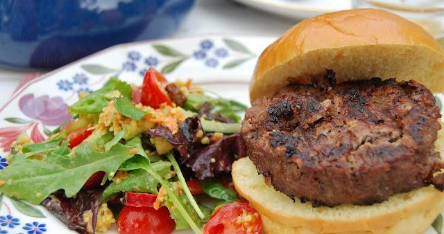 Best burger recipe photo by modern bric a brac