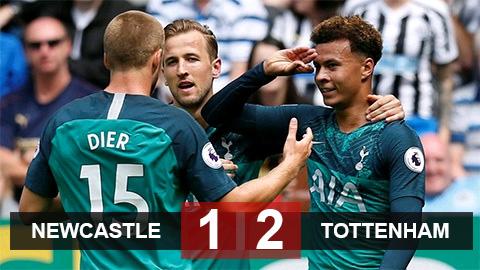 Tottenham có chiến thắng đầu tay trước Newcastle