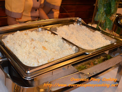 Breakfast Buffet - Sinangag and Plain Rice