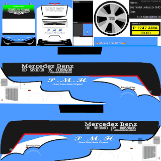 Kumpulan Livery Bus Simulator Indonesia V8