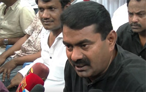 I am not a Mad to have an Alliance with Vijayakanth – Naam Tamilar Seeman