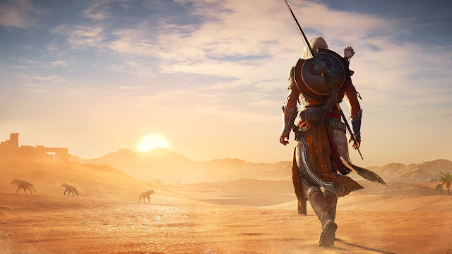 صحراء assassin's creed origins