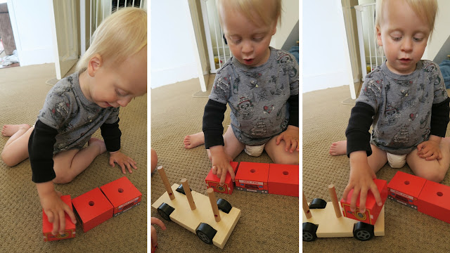 Alexander and stacking fire engine puzzle