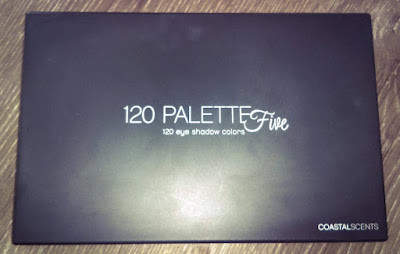 My Fav Swatches Coastal Scents 120 Five Palette