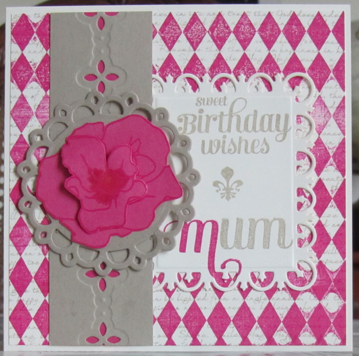 Deborah s Gems CR84FN57 Happy Birthday
