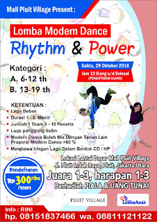 "Lomba Modern Dance ""Rhythm & Power"""