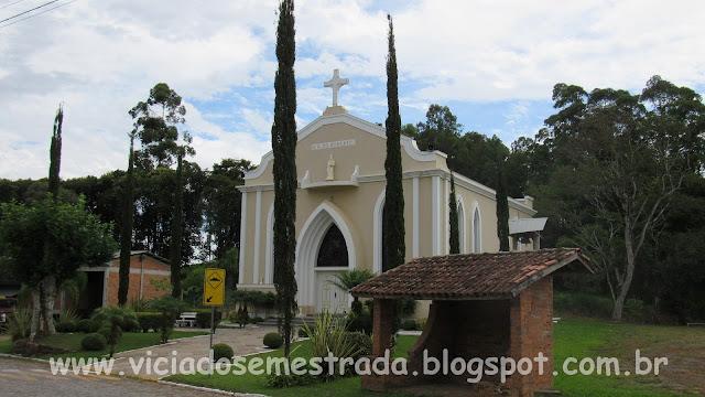 Igreja Nossa Senhora do Rosário, interior de Cotiporã
