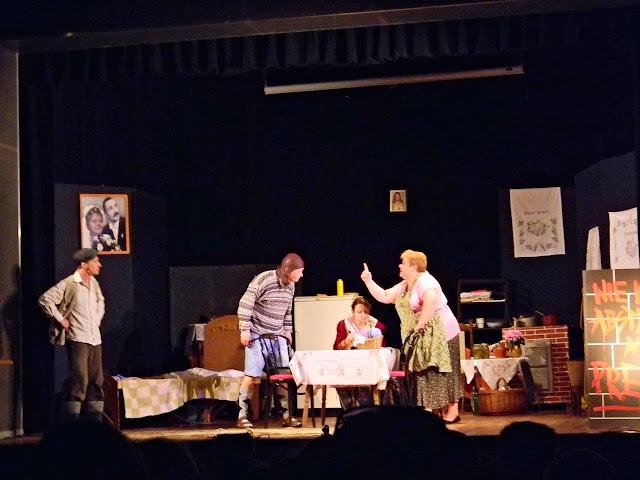 kłótnia, scena, aktorzy, scena Wolsztyn, Fokus