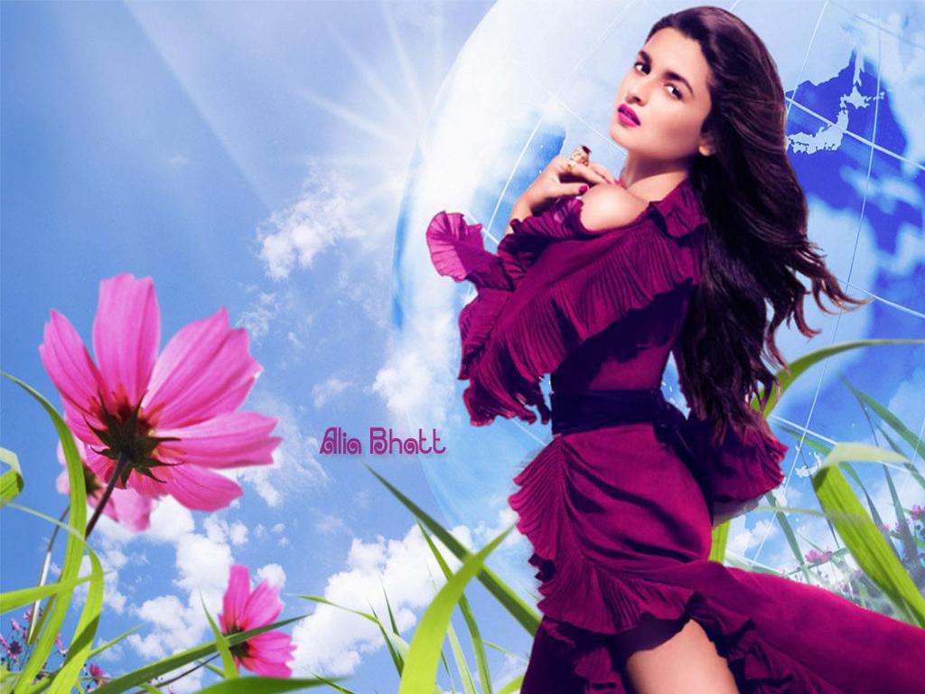 Actress  Actors Alia Bhatt Hot Wallpapers-2034