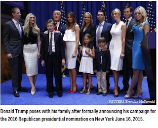 donald trump kids