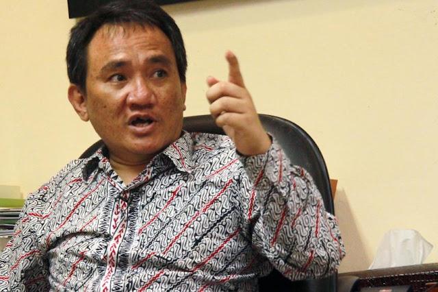 """Dinilai Provokatif Picu Perang Sipil, Andi Arief : """"Harusnya Kapolri Tangkap Presiden Jokowi"""""""