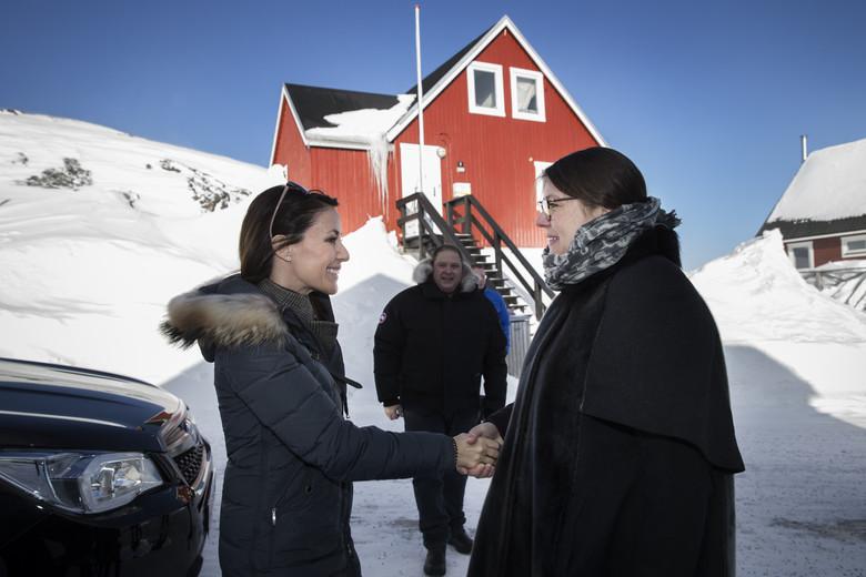 Imperor.net: Новости: аристократия, монархия, luxury, история Визит принцессы Мари в Гренландию, день 2