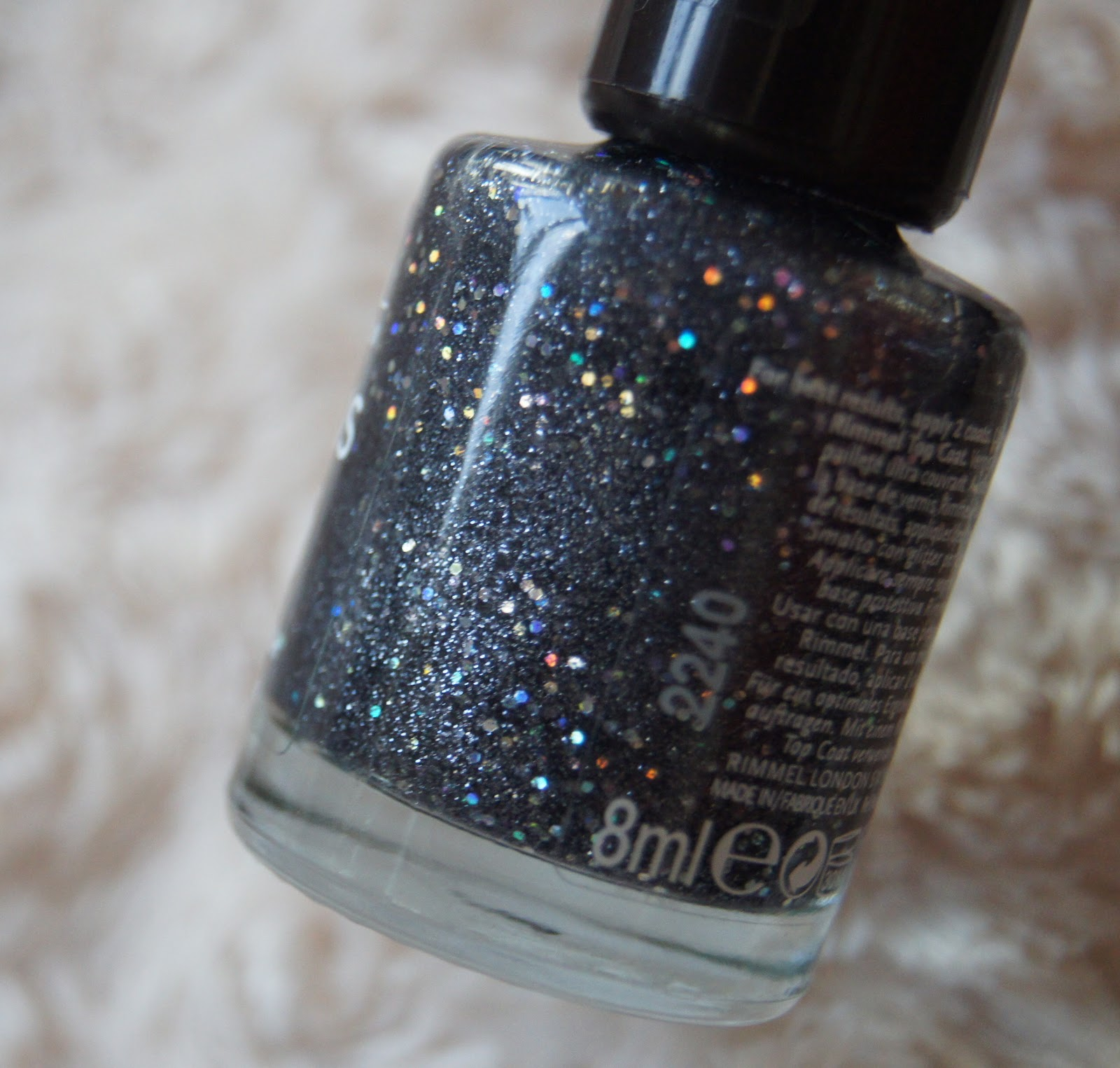 rimmel precious stones nail varnish diamond dust review