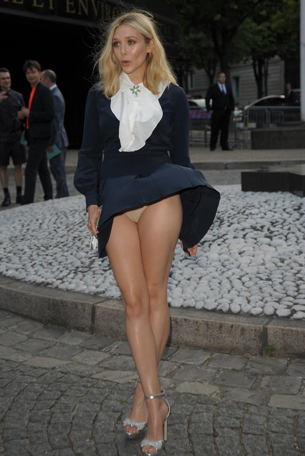 Sexy Celebrity Upskirt