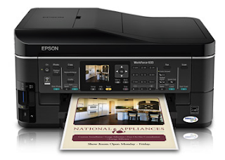 Epson WorkForce 633 Driver Free and Review
