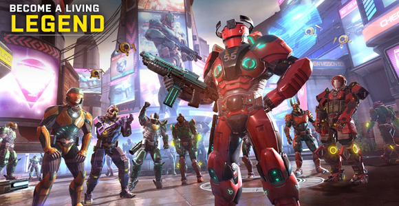 Download Shadowgun Legends Mod Apk + Data God Mode Terbaru