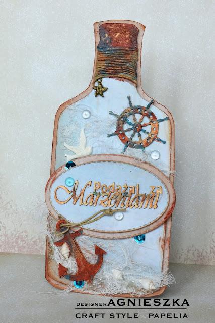 Podążaj za marzeniami - list w butelce