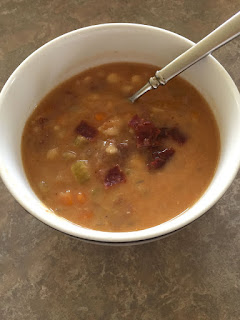 Bean and Bacon Soup: Savory Sweet and Satisfying