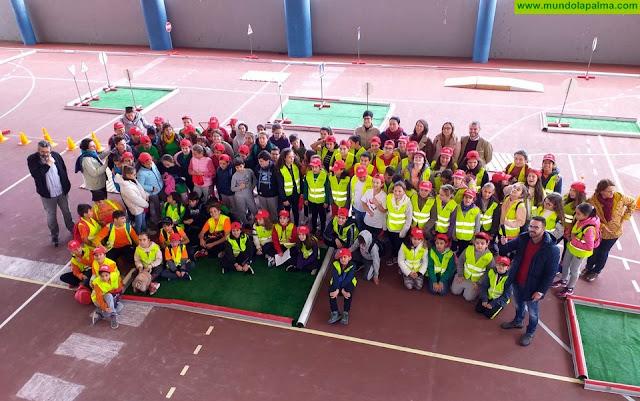 El Cabildo forma en materia de seguridad vial a alumnado de Puntallana, San Andrés y Sauces y Barlovento
