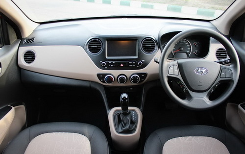 Interior Hyundai Grand i10 Facelift Indonesia