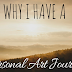 Why I have a personal art journal.