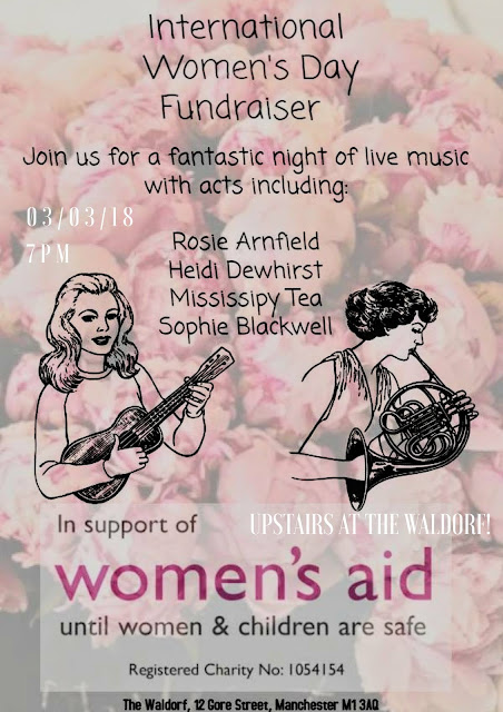 Girls On Tour, Women's Aid - 3rd March