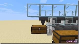 マインクラフト 水流を使った自動仕分け機 対象外のラージチェスト