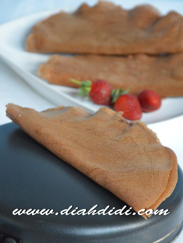 Cara Membuat Crepes Dengan Teflon : membuat, crepes, dengan, teflon, Didi's, Kitchen:, Crepes, Coklat, Pisang..Kriuk, Renyah..^_^