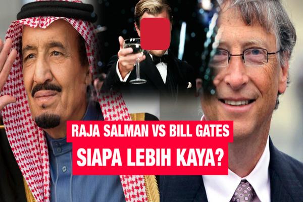 Terungkap, Orang ini Terbukti Lebih Kaya dari Raja Salman Ataupun Bill Gates