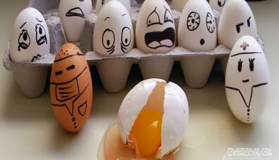 Creative and Funny Egg
