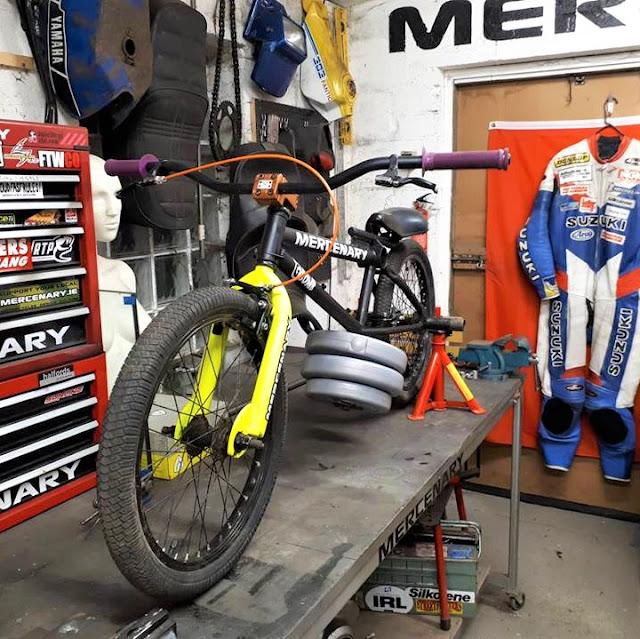 Mercenary Garage G-Bomb - G-Bike Gravity Racer