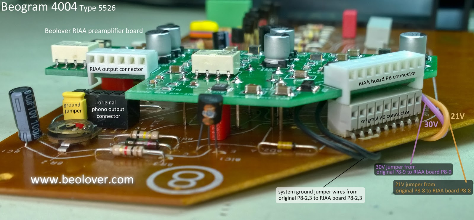 beolover: Beogram 4004 Type 5526: RIAA preamp board hiccup