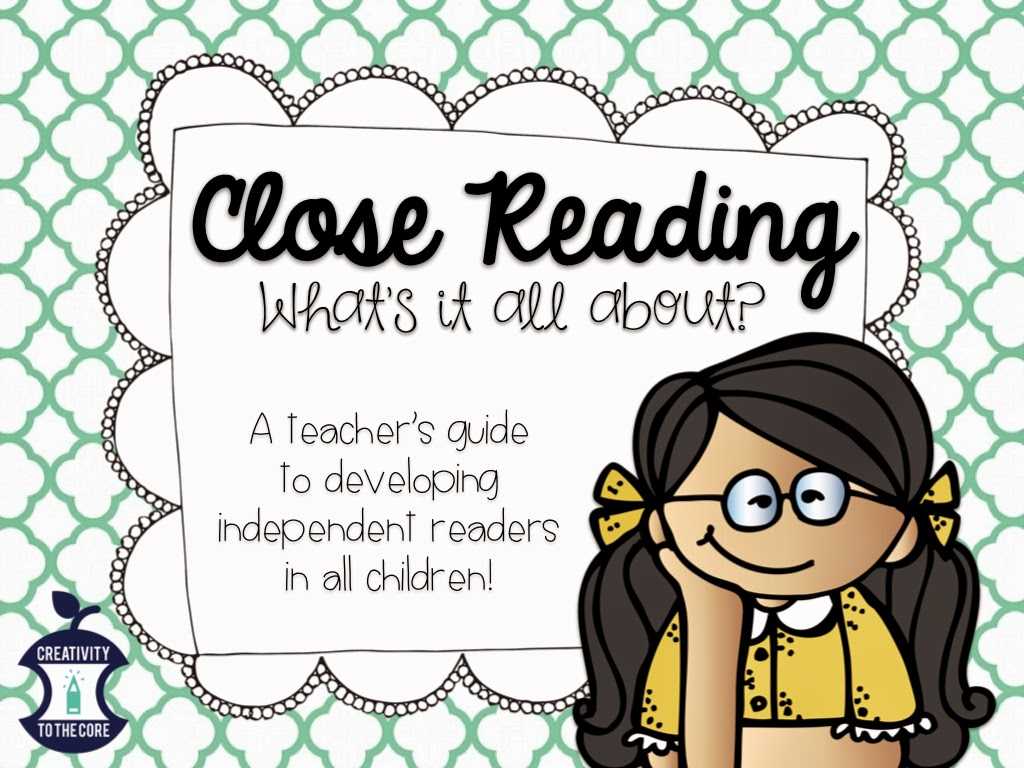 Close Reading What S It All About