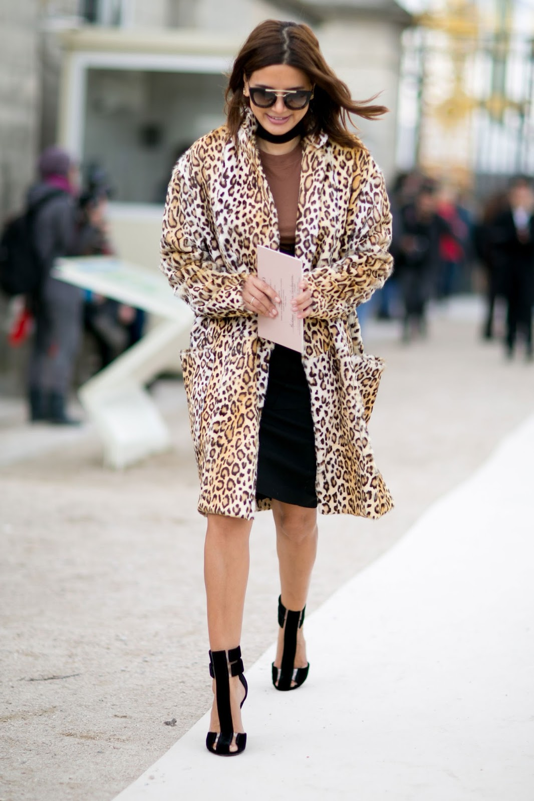 Christine Centenera's Best Fashion Week Street Style Moments