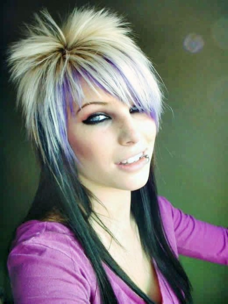 Punk Hairstyles For Girls With Attitude