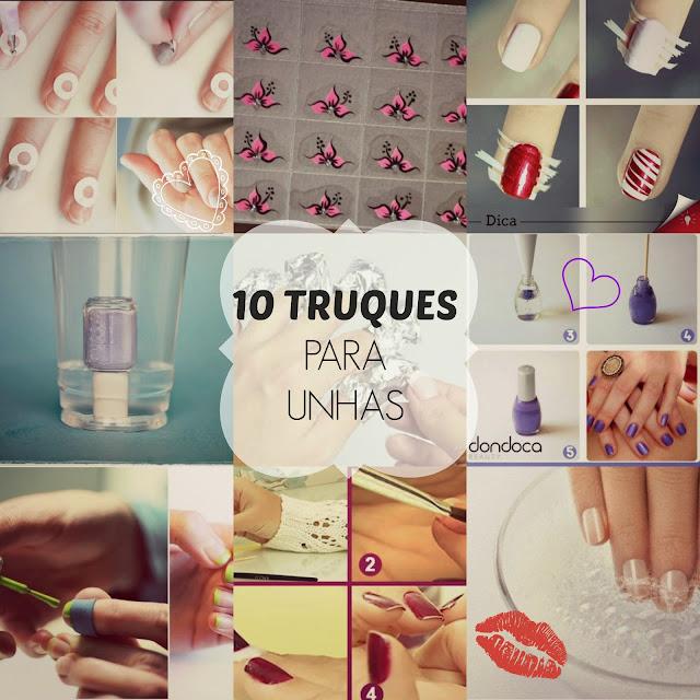 10 truques para as unhas