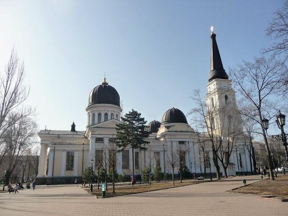 Одесса. Спасо-Преображенский собор