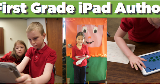 St. Patrick's Day Writing from First Grade iPad Authors