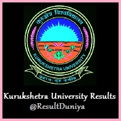 KUK B.A B.Sc B.Com 1st 2nd 3rd Year Results 2016