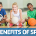 What are  the benefits of addict a sport