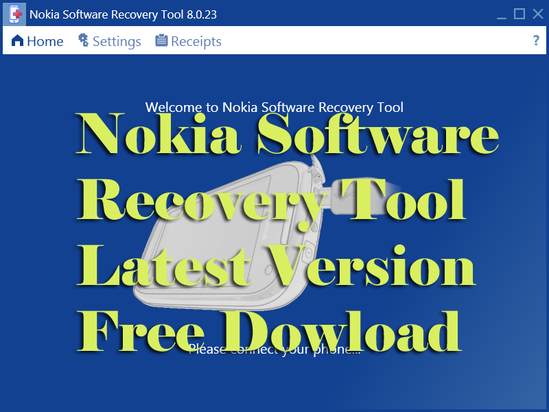 SOFTWARE RECOVERY TOOL 6.3.56 NOKIA TÉLÉCHARGER