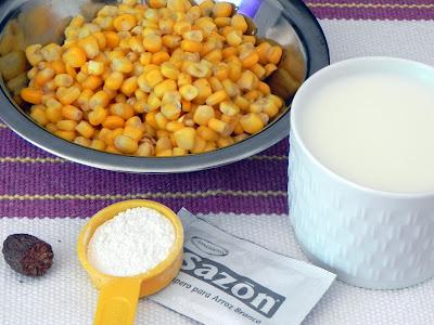 macarrão com creme de milho